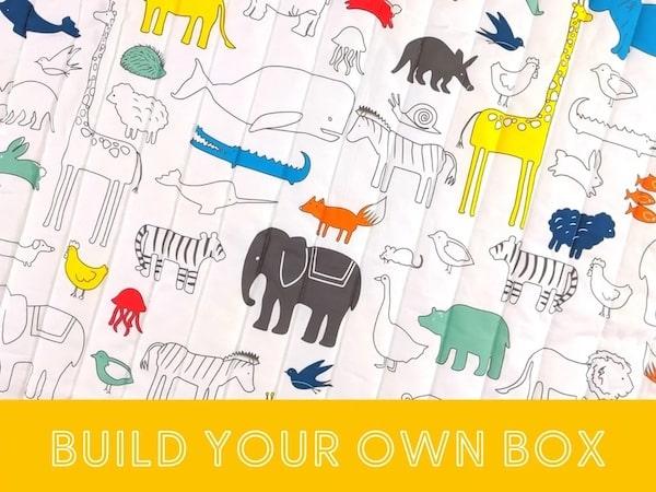 animal world baby mat + toys