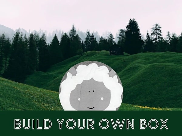 sheep baby mat + toys