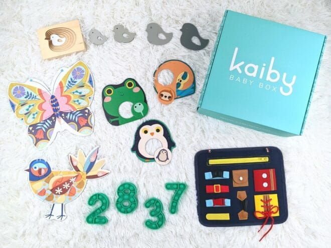Busy Fingers (Box A) Kaiby Box KB 5106