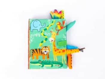 Jungly Fun Cloth Book
