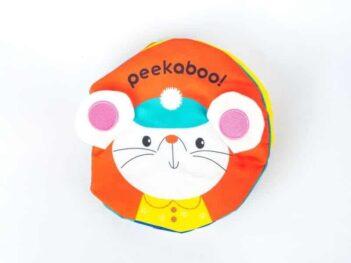 Peek-A-Boo Cloth Book