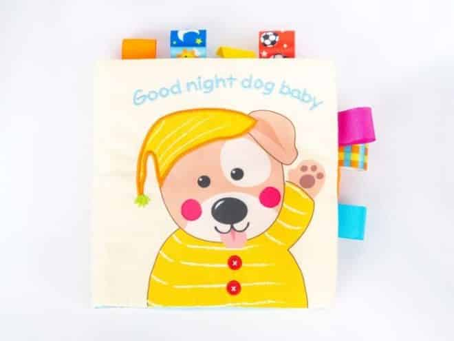 Puppy Cloth Book Kaiby Toy