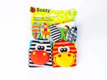 Animal Sock Rattle