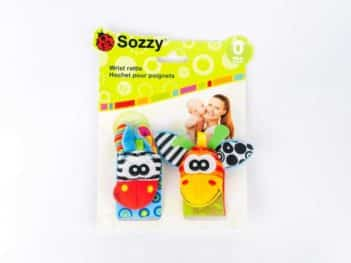 Animal Wrist Rattle Kaiby Toy