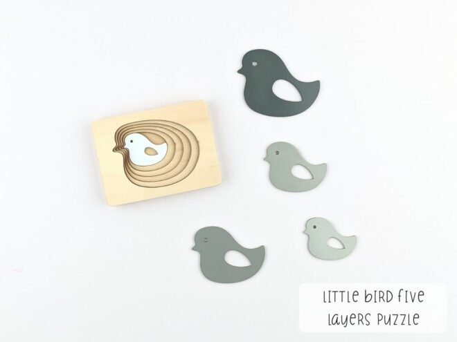 Little Bird Five Layers Puzzle KB0061