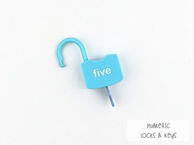 Numeric Locks & Keys KB0064-2