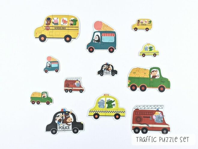 Traffic Puzzle Set KB0067-2