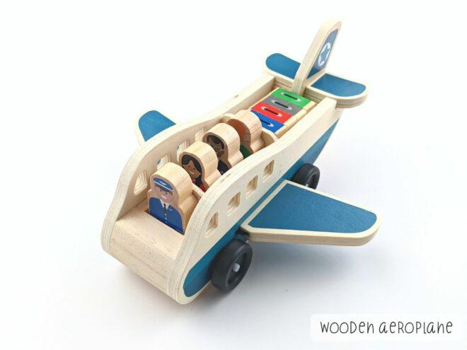 Wooden Aeroplane KB0047-1