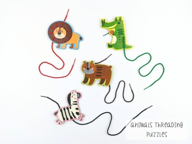 Animals Threading Puzzles KB0057-2