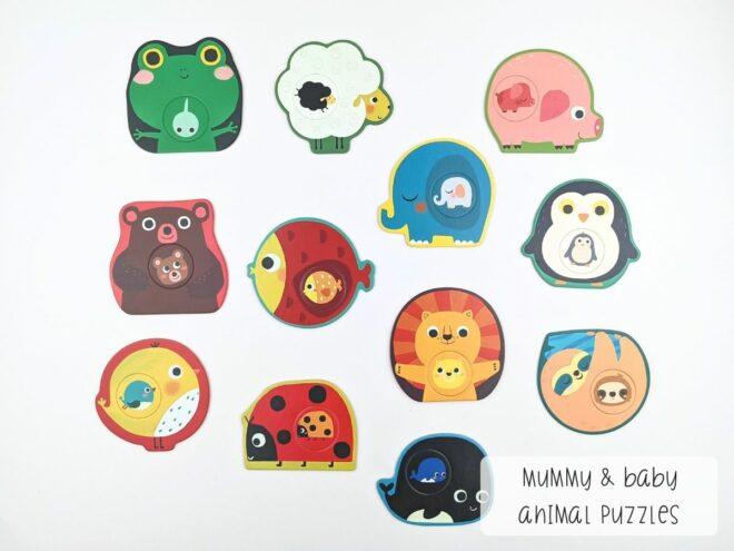 Mummy & Baby Animal Puzzles KB0059-2
