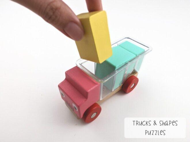 Trucks & Shapes Puzzles KB0066-4