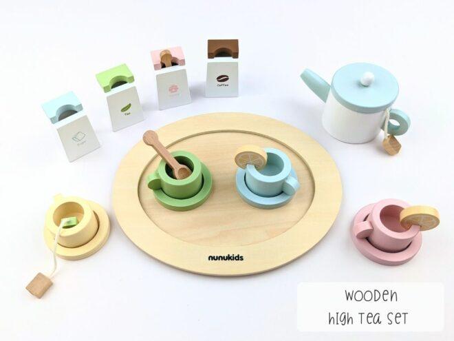 Wooden High Tea Set KB0054-1