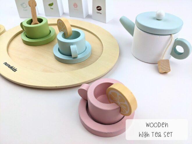 Wooden High Tea Set KB0054-2