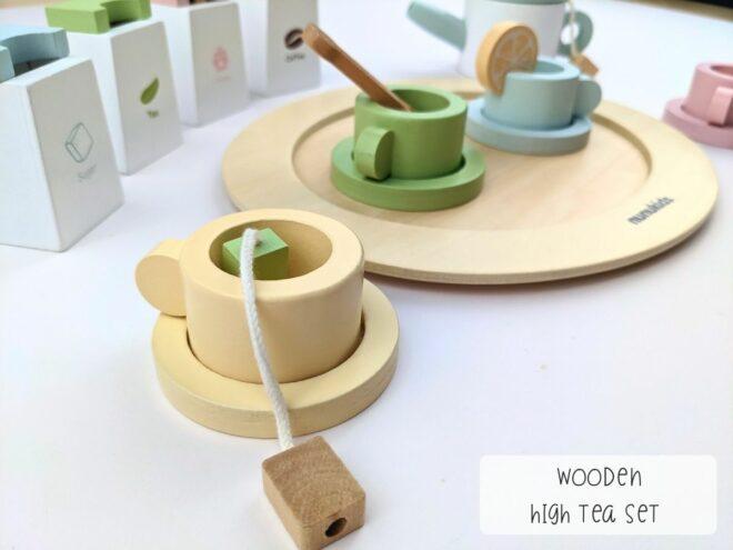 Wooden High Tea Set KB0054-4