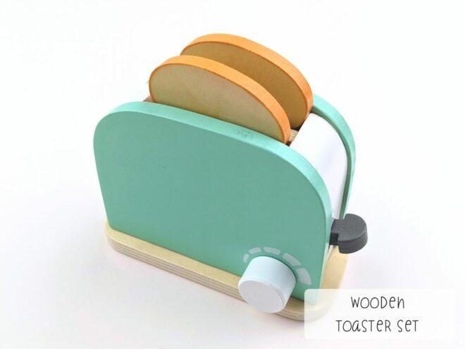 Wooden Toaster Set KB0053-2